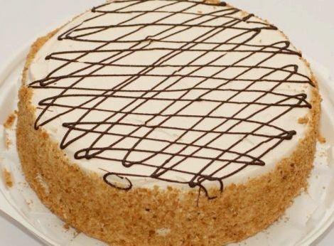 Торт медовый бисквитный рецепт в домашних условиях