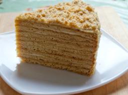 Торт медовый классический рецепт с заварным кремом