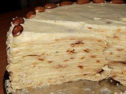 Торт на сковороде рецепт с пошаговым