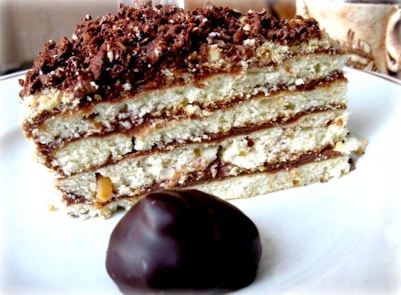 Торт на сковороде со сгущенкой рецепт с пошаговым фото