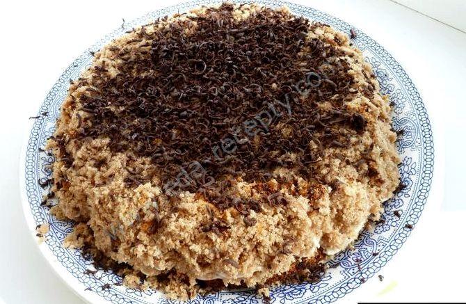 Торт пища богов рецепт с фото пошагово