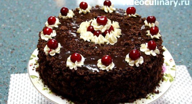 Торт пьяная вишня от бабушки эммы фото рецепт