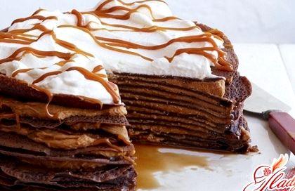 Торт с творожным кремом и клубникой рецепт с фото