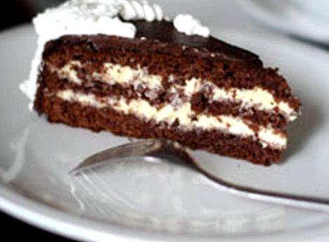 Торт шоколадный с заварным кремом рецепт с фото
