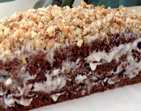 Торт со сметанным кремом пошаговый рецепт с фото