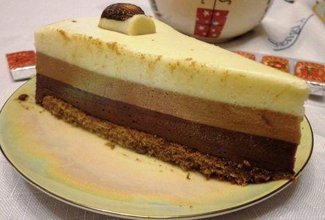 Торт три шоколада пошаговый рецепт с фото от селезнева
