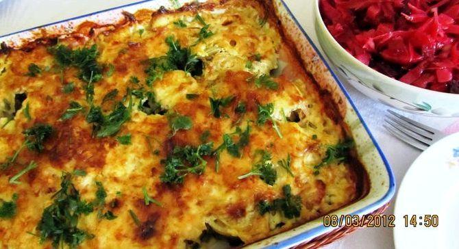 Треска запеченная в духовке с сыром рецепт с фото