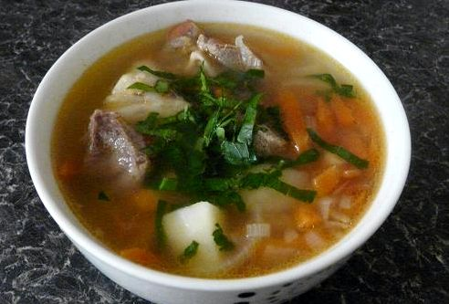 Узбекская шурпа из баранины рецепт с фото