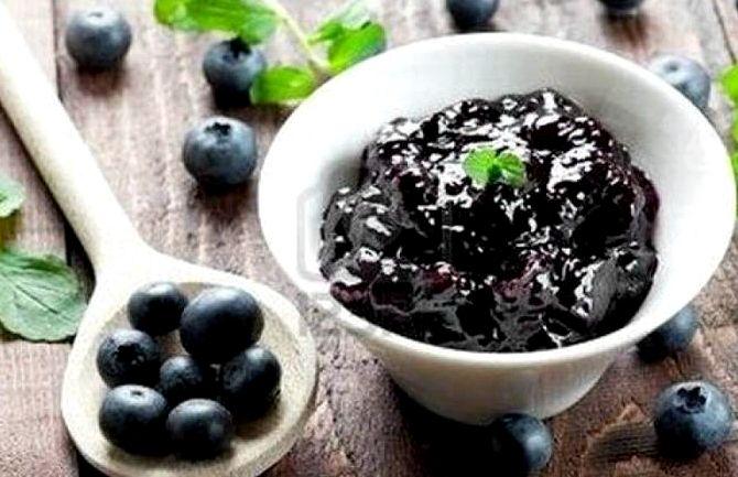 Варенье из черники и земляники рецепт на зиму