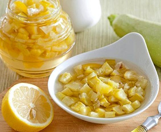 Варенье из кабачков кусочками с лимоном и апельсином рецепт с фото