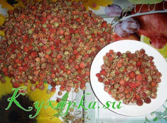 Варенье из клубники лесной рецепт с фото