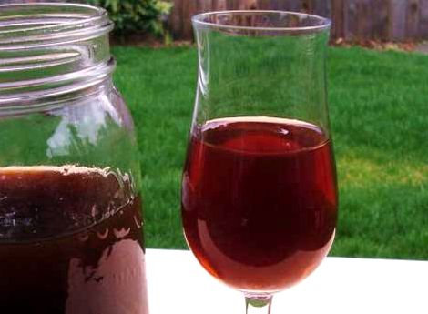 Вино домашнее из черной смородины рецепт