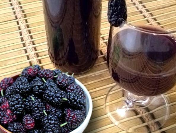 Вино из тютины в домашних условиях рецепт