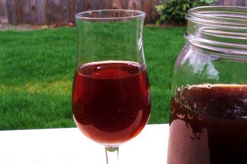 Вино с водкой из черной смородины в домашних условиях рецепт