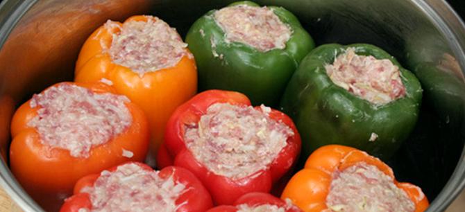Вкусные фаршированные перцы рецепт с фото