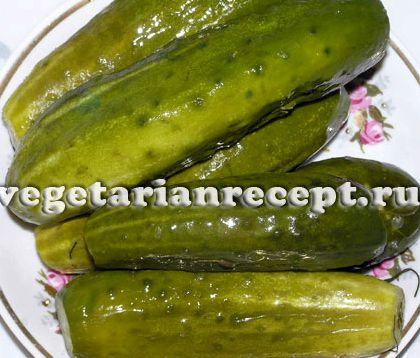 Вкусные малосольные огурцы рецепт с фото