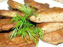 Вкусные печеночные котлеты рецепт с фото