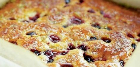Вкусные пироги с ягодами в духовке рецепт с фото