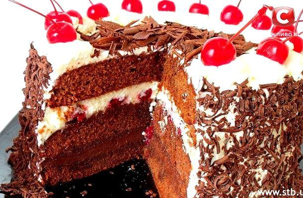 Все буде добре торт шварцвальдский рецепт