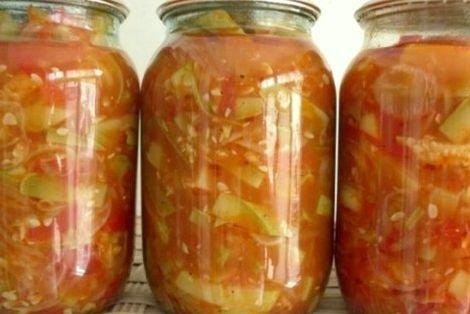Закупорка кабачков вкусный рецепт на зиму