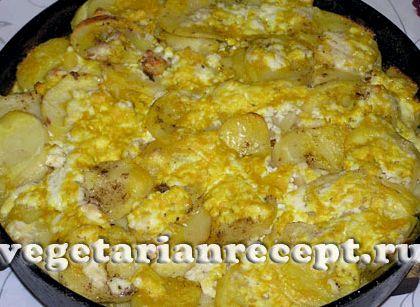 Запеченная картошка в духовке рецепт с сыром