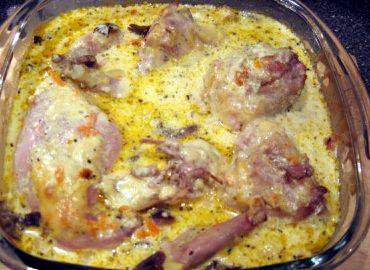 Запеченный кролик в духовке рецепт с фото