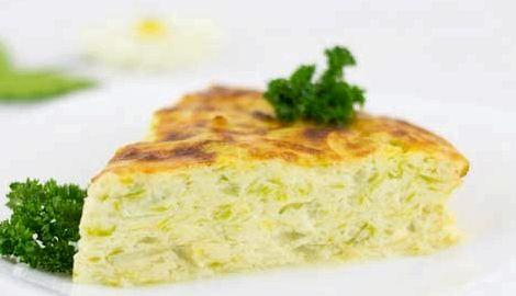 Запеканка из кабачков в духовке рецепт с фото
