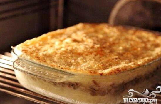 Запеканка из картофеля и фарша в духовке фото рецепт