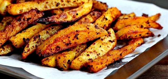 Жареная картошка на сковороде рецепт