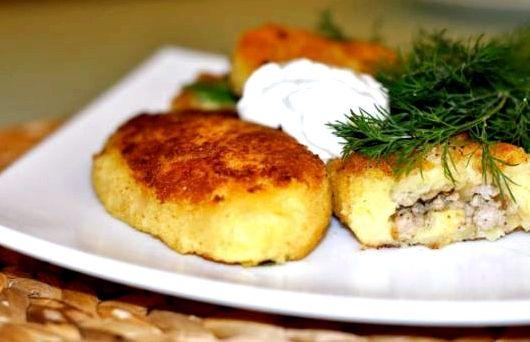 Зразы картофельные рецепт приготовления с фаршем